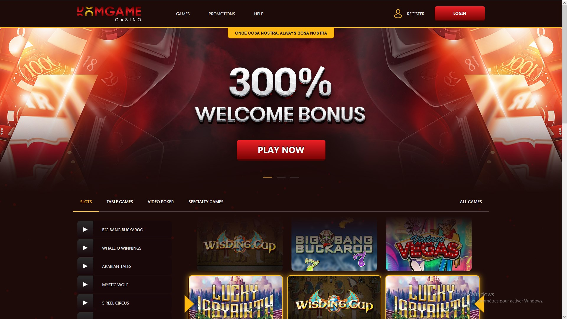 Best Welcome Bonus Online Casino